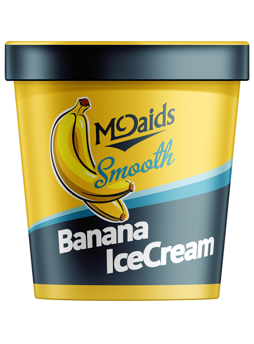 Smooth Banana Ice Cream