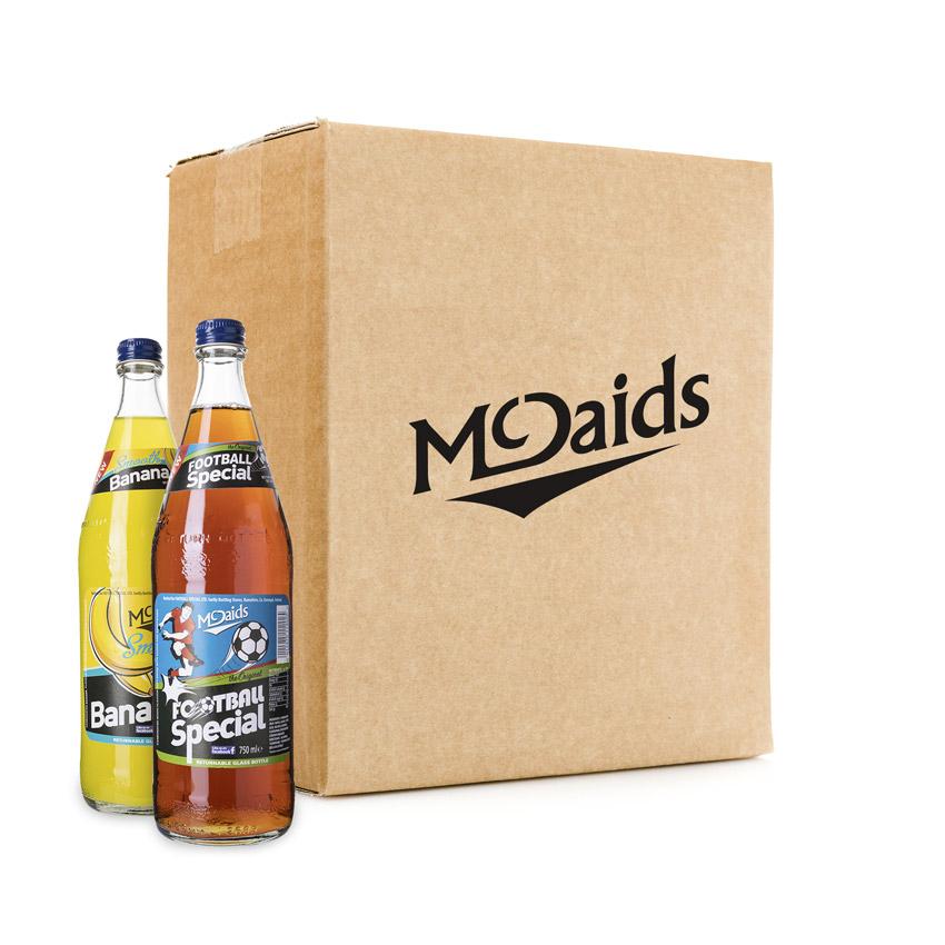 McDaids 750ml Glass Mix Box
